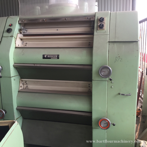 Used MDDL BUHLER MADE Roller Mills