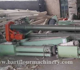 Used Buhler Conveyors Wheat Flour Milling Screwers
