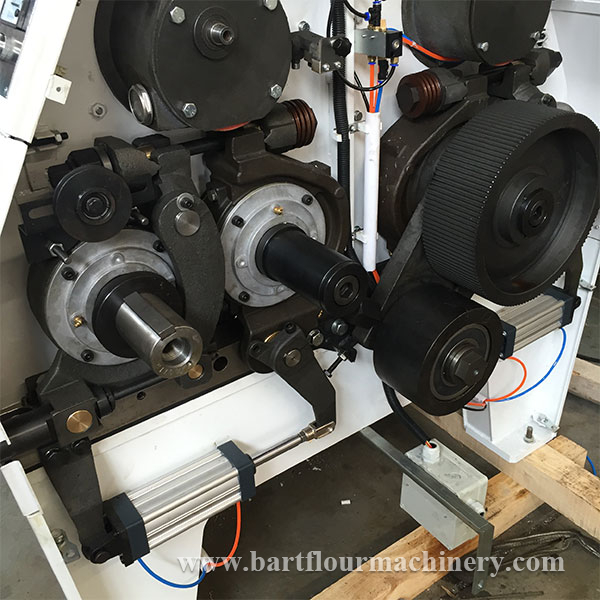 Overhauled Refurbished MDDK Belt Wheels Rollermills