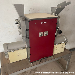 Used CD1 Mill Production of test flours representative of industrial milling - soft wheat